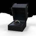 Zlatý zásnubní prsten DF 2101, žluté zlato, s briliantem