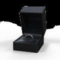Zlatý dámský prsten DF 2953 z bílého zlata, rubín s diamanty