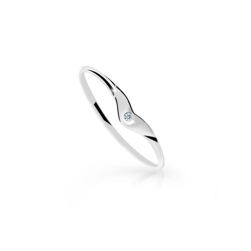 Danfil prsten DF 1873 65 + Doživotní servis zdarma, Dárkové balení, Certifikát pravosti kamene