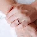 Sierra | Zásnubný prsteň so stredovým kameňom 0.25 ct, biele zlato, s diamantmi