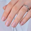 Zlatý dámsky prsteň DF 3517 z bieleho zlata, s briliantom