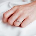 Aria | Zásnubný prsteň so stredovým kameňom 0.25 ct, žlté zlato, s diamantmi